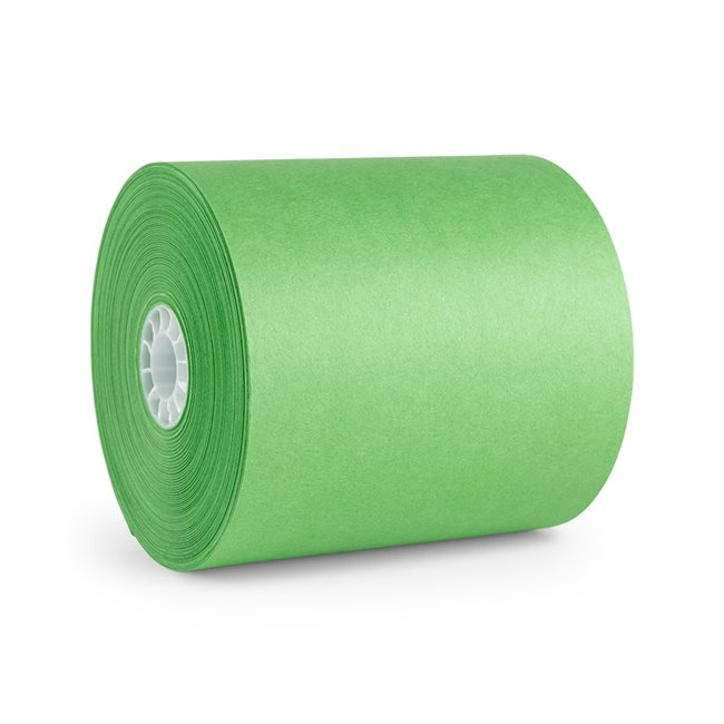 Etiquetas - Rollo de papel - Cleaner Supply - Verde - Und