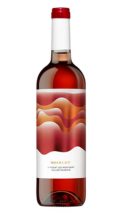 Bebidas - Vino - ROJALET - ROSADO - Botella  750ml - DO Monsant España - 6/1